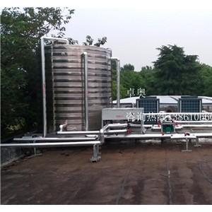 江苏卓奥仪征南京港化工园太阳能空气能热水工程-- 江苏卓奥节能设备安装工程有限公司