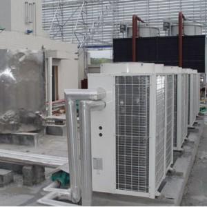 浙江舟山石斑鱼养殖厂空气能热泵热水