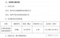18.9%N 型单晶双面双玻最新价格:2.65元/W