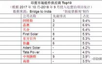 年度Top10!印度组件、逆变器、EPC排名出炉 有你在的公司吗?