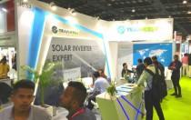 上海兆能受邀出席印度可再生能源展