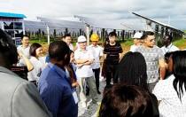 阳光电源麻城扶贫项目成为外籍友人取经地