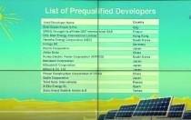卡塔尔500兆瓦太阳能招标中有16家投标方通过预审