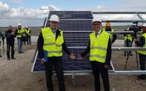 赛拉弗出席乌克兰最大绿色能源项目动工仪式