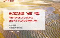 光伏是中国的国家名片,中国光伏引领世界光伏发展,是一带一路国家能源转型的战略基础