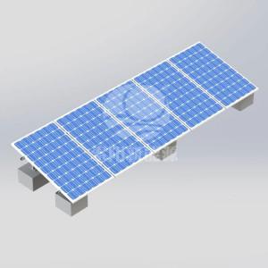SOYO水泥屋顶碳钢光伏支架系统