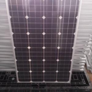 厂家生产高质量单晶100W太阳能板 质量保证-- 深圳市芯诺新能源有限公司-销售