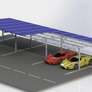 旭科全铝车棚防水支架系统-- 广东旭科太阳能科技有限公司
