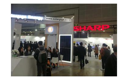 锦州阳光能源携方单晶高效系列组件亮相 第十二届日本国际太阳能展会