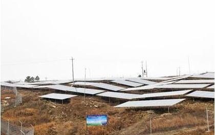 湖南冷水滩: 荷竹塘扶贫光伏发电站将投入使用