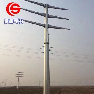 钢杆_钢管杆_钢管塔_钢管塔厂家-- 霸州市创森电力机具制造有限公司
