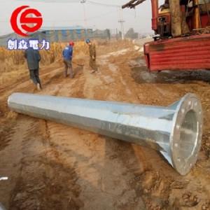 电力钢杆光伏打桩基础钢杆钢桩输变电