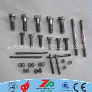钼螺丝 钼螺钉 定制高温专用钼螺栓 钼标准件 厂家直销