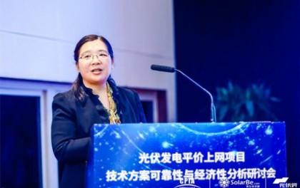 李琼慧:2020年我国太阳能发电装机将达2.6亿千瓦