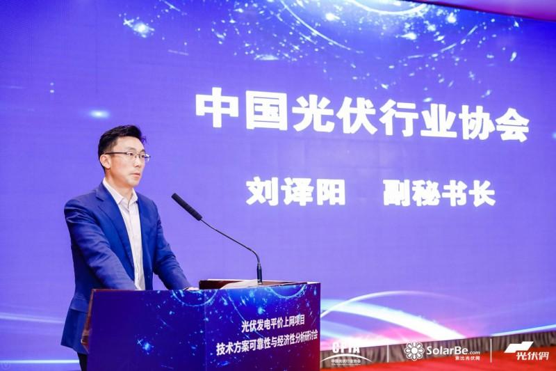 中国光伏行业协会副秘书长刘译阳