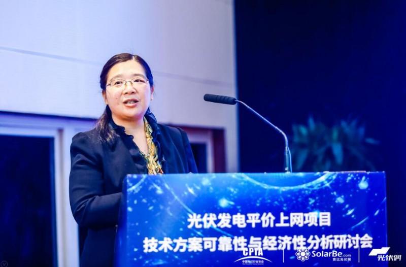 国网能源研究院新能源与统计研究所所长李琼慧