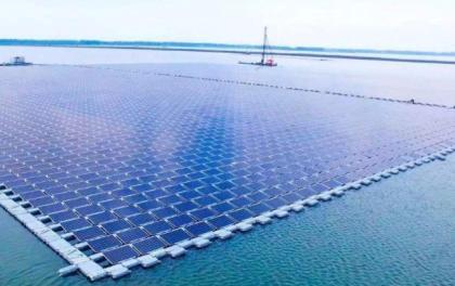 全球100座最大的水面光伏电站,有77座在日本