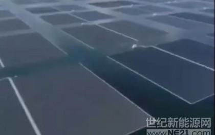 惊叹!全球最大水上光伏电站 你没见过的美