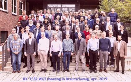 阿特斯参加在德国举行的国际IEC TC82 WG2春季会议,加强中国光伏企业国际话语权!