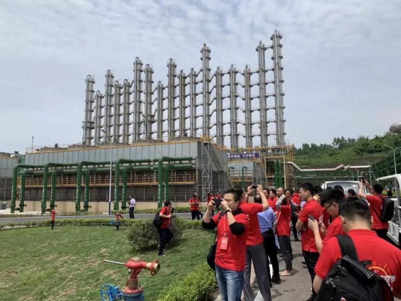 参观永祥新能源厂区