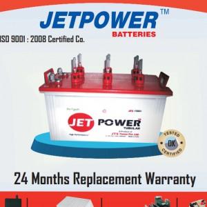 JETPOWER蓄电池JTS100-12/12V100AH-- 北京北极星电源设备有限公司