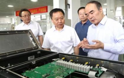 安徽省委副书记、省长李国英一行专题调研阳光电源