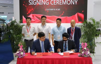 光为太阳能与印度ACME签订1GW合作协议