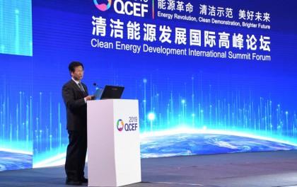 国家能源局副局长綦成元:实施高比例可再生能源战略,支持风电光伏平价上网