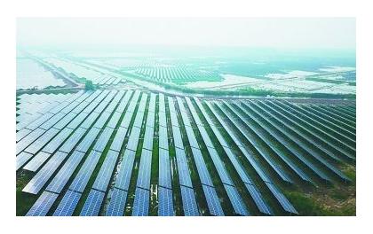 浙江温州西旸700亩荒坡地建成光伏电站