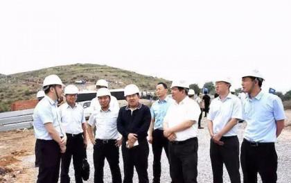 国家能源局李创军副司长调研长治250MW光伏领跑者项目