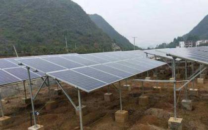 云南勐海县光伏扶贫项目实现并网发电