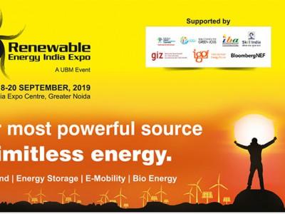 2019年印度国际可再生能源展