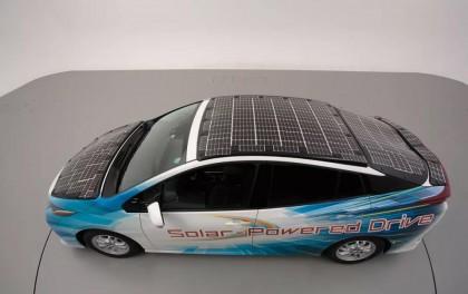 【光伏应用】转换率34% 丰田即将推出普锐斯太阳能汽车