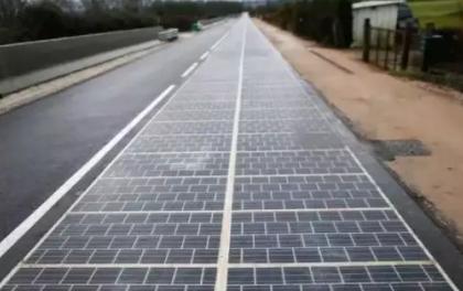 电池板退化、剥落并分裂,法国政府宣布光伏公路实验失败!中国的也... ...