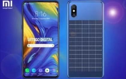 曝国货之光小米新专利:手机背部配太阳能电池板