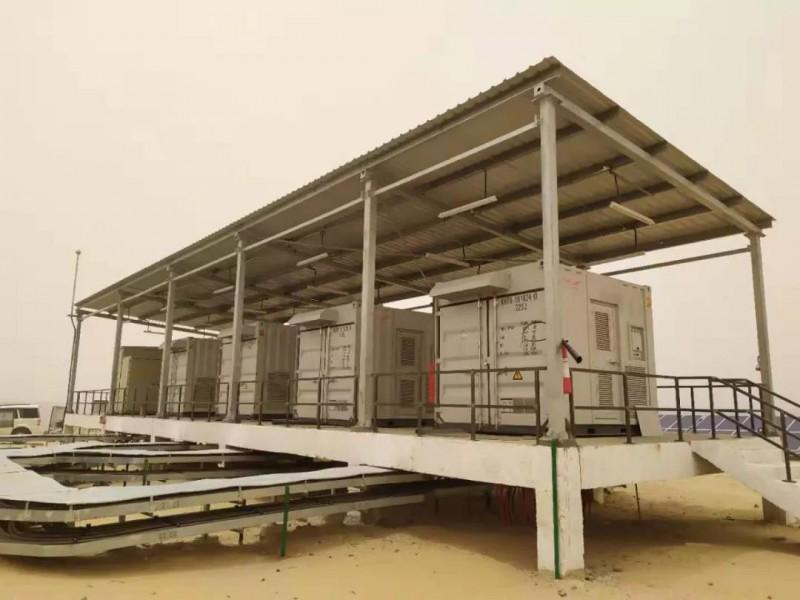 海外再传佳绩!科华恒盛助力印度200MW光伏电站项目顺利并网