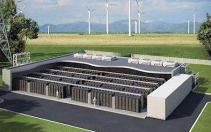 中国能建浙江火电承建的浙江省首座储能站并网
