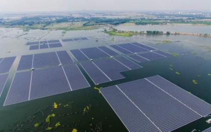 韩国开始建设25MW浮动式光伏发电阵列