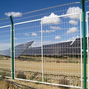 光伏围网.太阳能发电站围栏.光伏电站围栏-- 安平金淦金属丝网制造有限公司