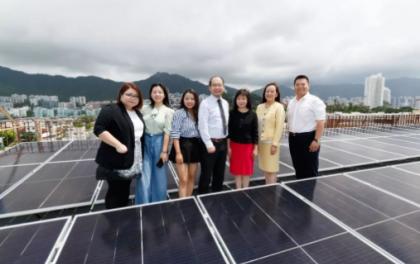 Hi-MO X亮相香港,打造全港首个成功并网的学校光伏项目