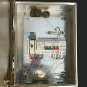 户用分布式不锈钢无表位并网汇流配电