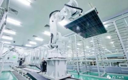 晶科能源2020年订单快速增长