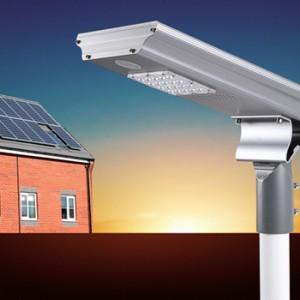 40W智慧型一体化太阳能路灯新农村路灯-- 广州三赫太阳能科技有限公司