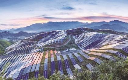 中国电建承建的越南油汀光伏项目举行竣工典礼