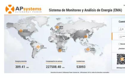 昱能EMA 智能监控系统新增西语版本 注册人数已超53000户!