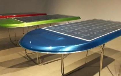 神奇的光伏应用——自带储能的太阳能桌子