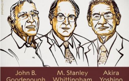 """2019年诺贝尔化学奖给了""""锂电池之父""""等三位科学家"""