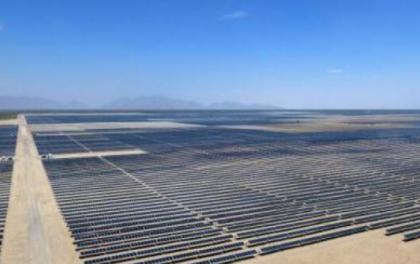 全国最大的沙漠集中式光伏发电基地又一项目开工建设
