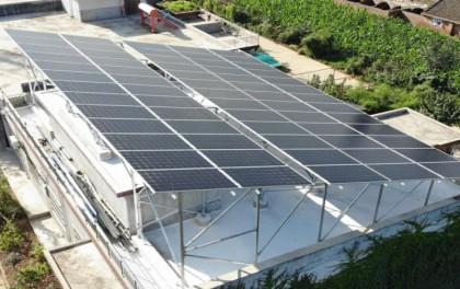 平屋顶+双面组件?全年发电增益超15%