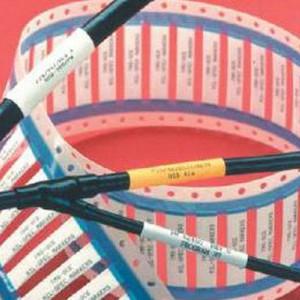 TMS耐腐蚀耐油135度可任意印字军标标识热缩管